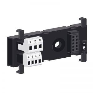 Z-PC-DINAL1-35 Soclu pentru montare pe sina DIN+borne de conectare